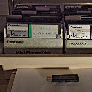 floppy disks-Random Facts List