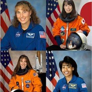 four female astronauts-Random Facts List