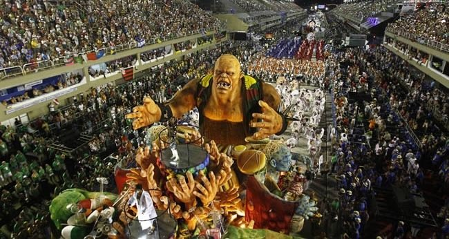 001_Carnaval — Rio de Janeiro, Brazil – Feb. 28 – March 4 (for 2014)-Festivals You Should Attend Before You Die