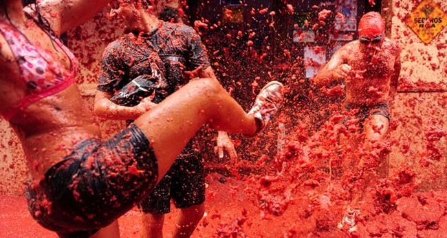 10. La Tomatina — Buñol, Spain – The last Wednesday in August-Festivals You Should Attend Before You Die