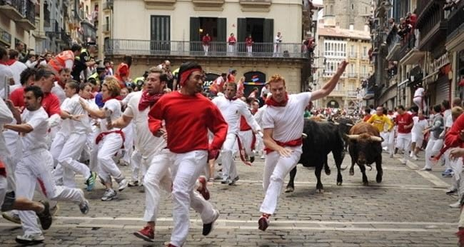 15. Running of the Bulls — Pamplona, Spain – July 6 – 14-Festivals You Should Attend Before You Die