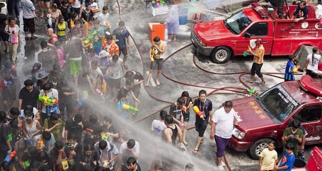 16. Songkran Water Festival — Chiang Mai, Thailand – April 13 – 15 (for 2014)-Festivals You Should Attend Before You Die