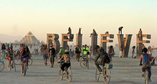 17. Burning Man — Black Rock City, Nevada – Aug. 25 – Sept. 1 (for 2014)-Festivals You Should Attend Before You Die