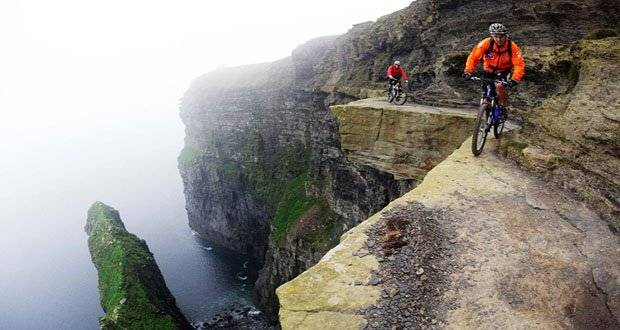 3. Cliffs of Moher, Ireland-Precarious Places on Earth