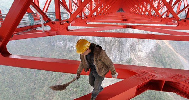 5. Anzhaite Long-span Suspension Bridge, China-Precarious Places on Earth