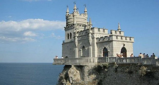 6. Swallows Nest, Ukraine-Precarious Places on Earth