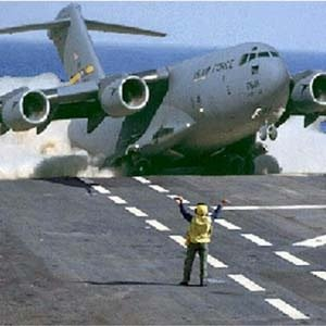 C130 Carrier Landing without Hook  Militarycom