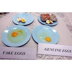 Fake Eggs-Interesting Facts About China