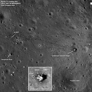 man-made material-Interesting Facts About Moon