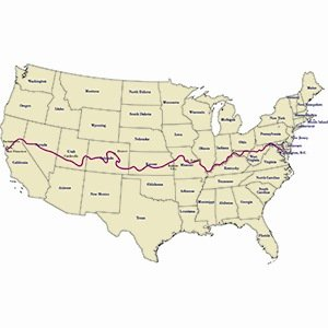 American Discovery Trail-Random Kickass Facts List
