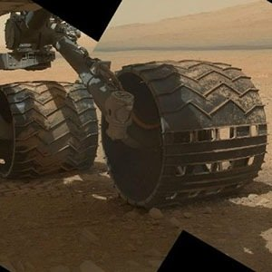 Curiosity's wheels-Interesting Facts About Mars