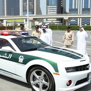 Dubai police Cars-Facts You Didn't Know About UAE and Dubai