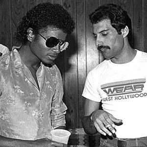 Michael Jackson and Freddie Mercury-Interesting Facts About Michael Jackson