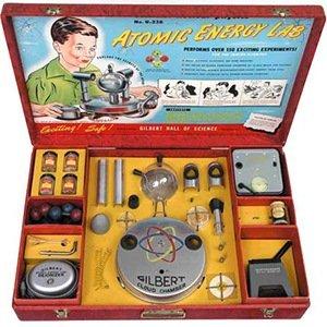 Radioactive 1950s science kit- Random Facts List