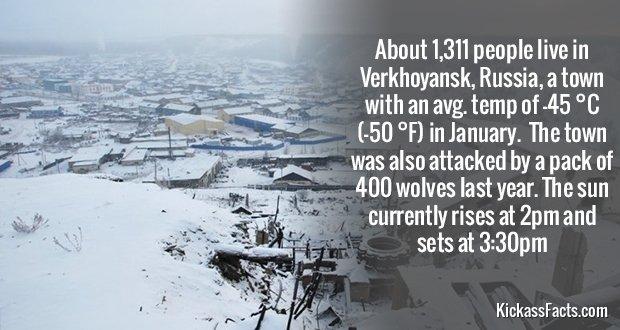 466Verkhoyansk, Russia