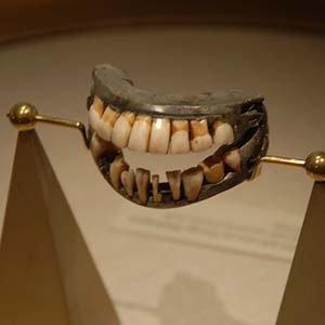 George Washington's wooden teeth-Kickass Random Facts List