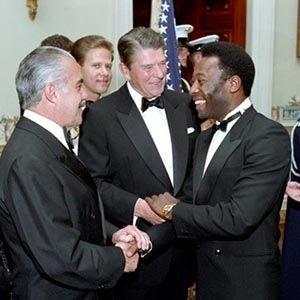 Pele-Reagan-Kickass Random Facts List