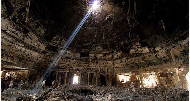 003_Deposed Iraqi Leader Saddam Hussein's Baghdad Bunker