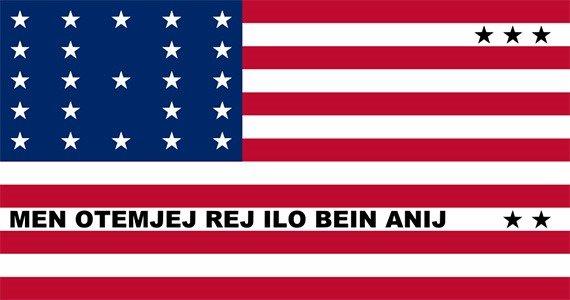 Bikini Atoll's flag