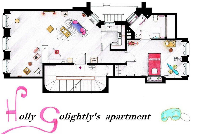 Breakfast at Tiffany's - Holly Golightly's Apartment
