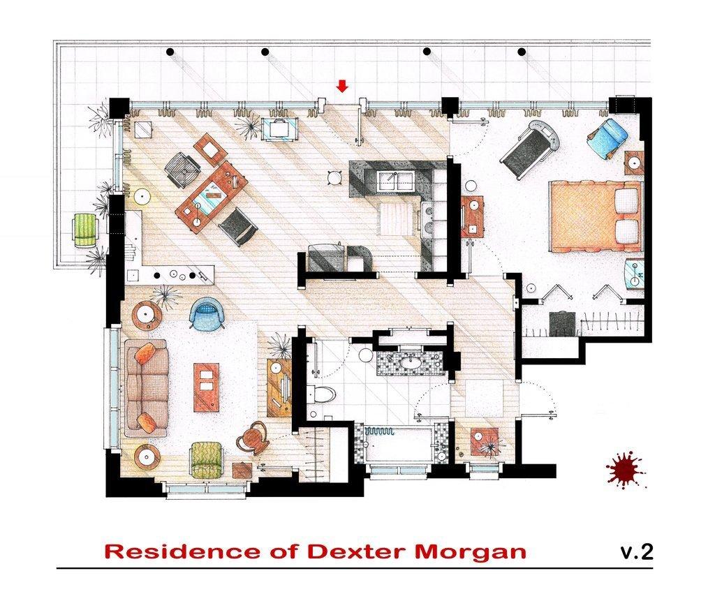 Dexter - Residence of Dexter Morgan