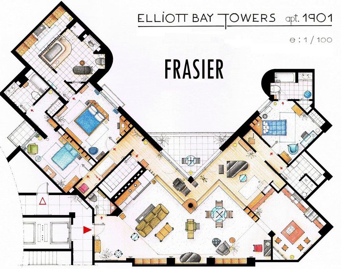 Frasier - Elliot Bay Towers