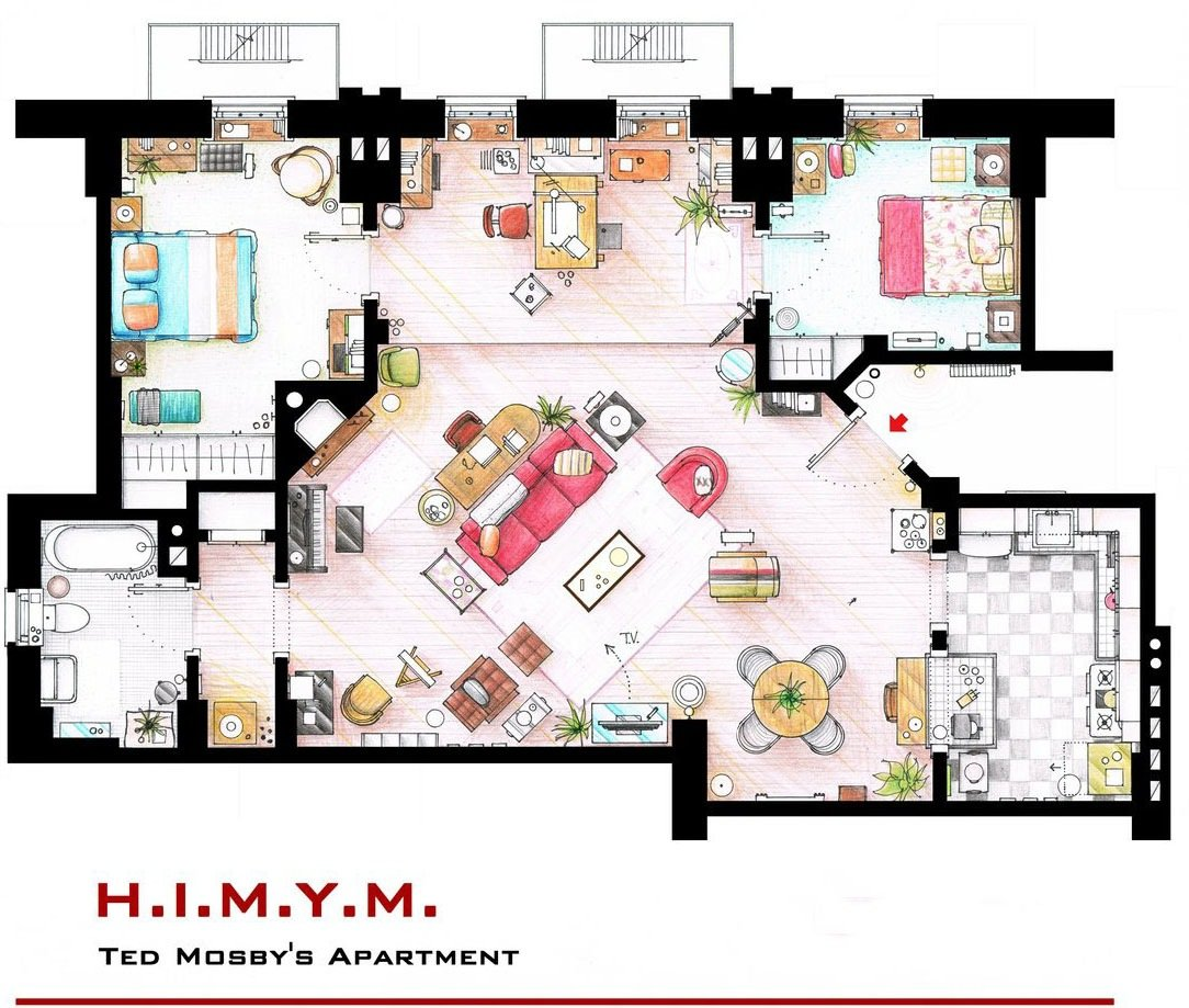 How I Met Your Mother - Ted Mosby's Apartment