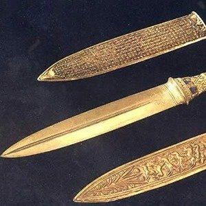 King Tutankhamun's dagger