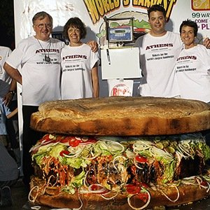 Large food Record