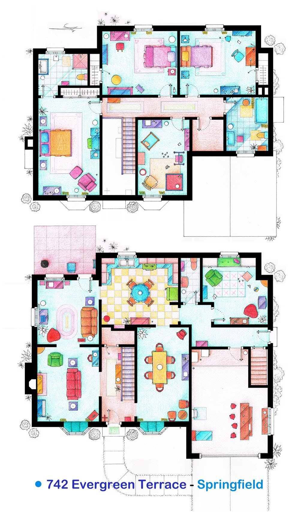 The Simpsons - 742 Evergreen Terrace