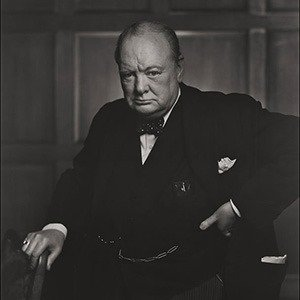 Winston Churchill Yousuf Karsh, Canadian (born in Turkish Armenia), 1908Ð2002 1941 Photograph, gelatin silver print *Museum of Fine Arts, Boston. Gift of Estrellita and Yousuf Karsh *Photograph © Estate of Yousuf Karsh *Photograph courtesy, Museum of Fine Arts, Boston   23karsh           Library Tag  09282008  Arts & Entertainment