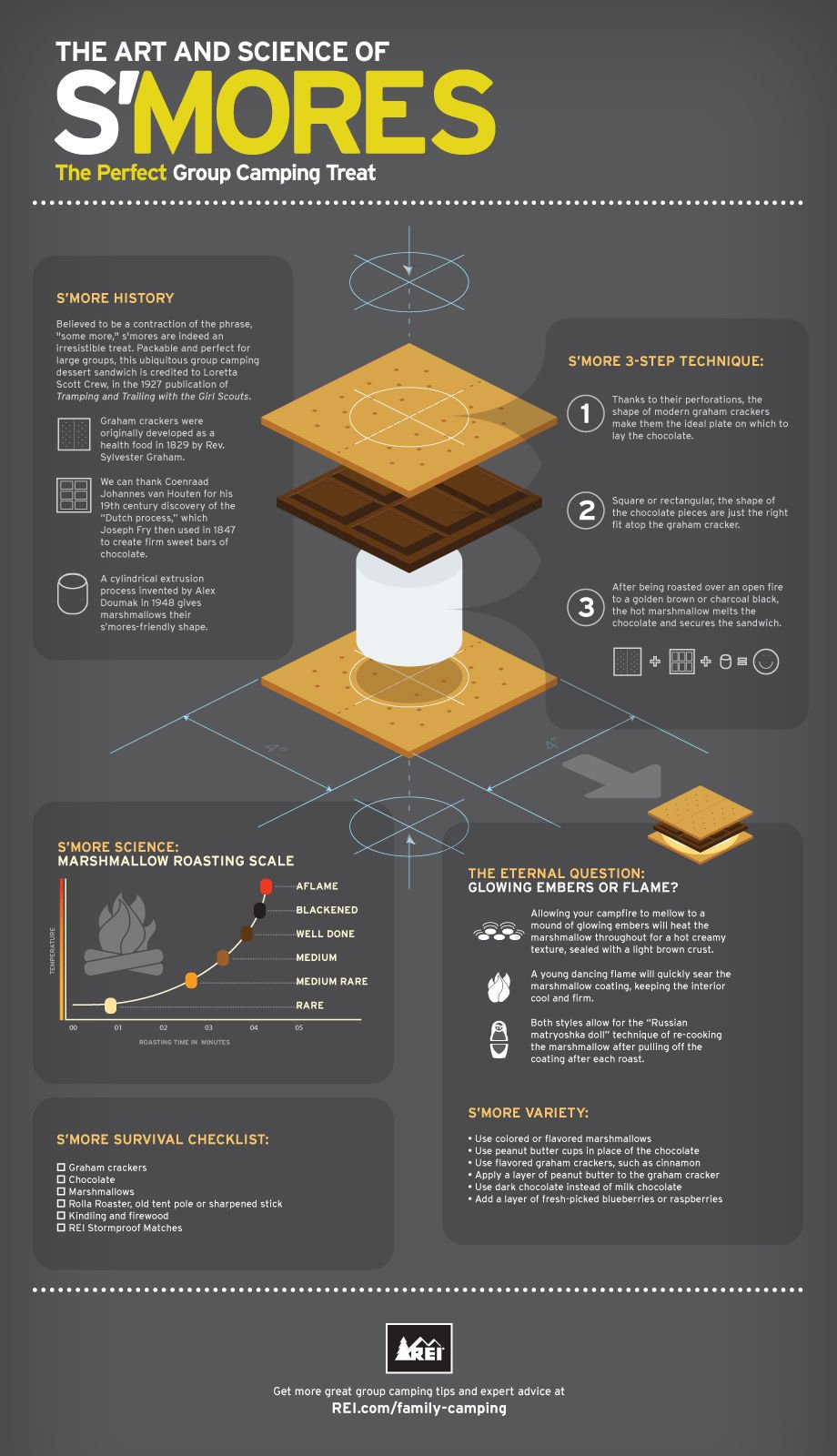 03 The Art and Science of Smores (Infographic)