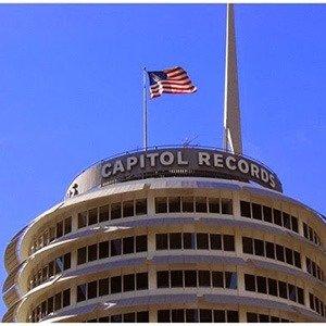 Blinking light Capitol Records