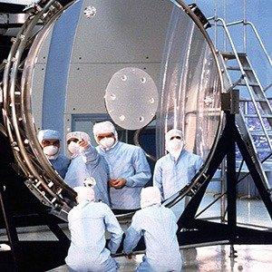 Hubble Telescope's mirrors