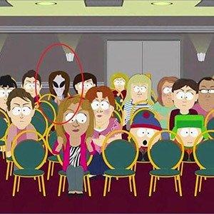 South Park Alien