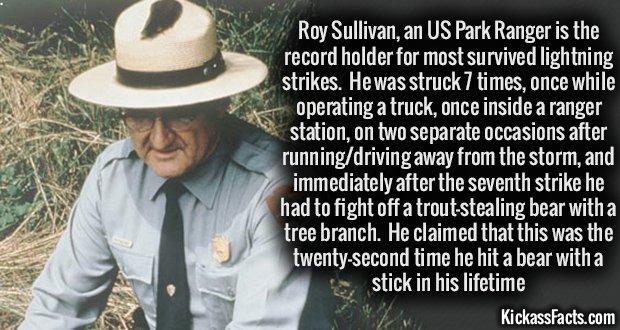 946 Roy Sullivan