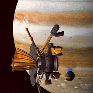 Galileo space probe