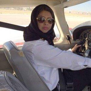 Saudi Arabia women pilot