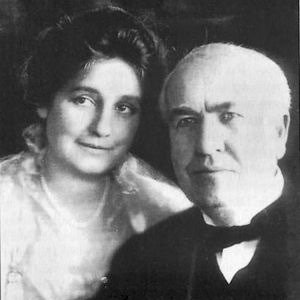 Thomas Edison with wife