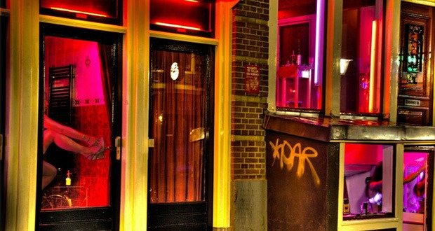 7. Amsterdam Red Light District, Netherlands