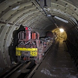 Royal Mail underground train