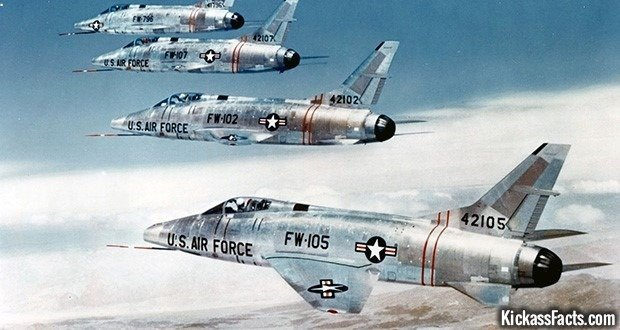 10 The North American F-100 Super Sabre