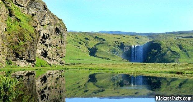 16 Skogafoss Falls