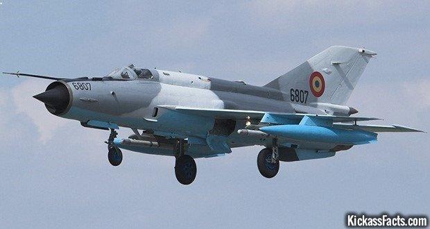 6 The Mikoyan-Gurevich MiG-21