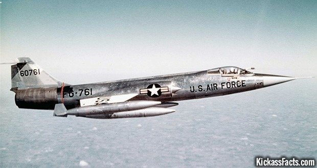 7 The Lockheed F-104 Starfighter
