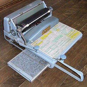 Japanese typewriters
