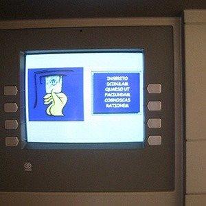 Vatican City ATM