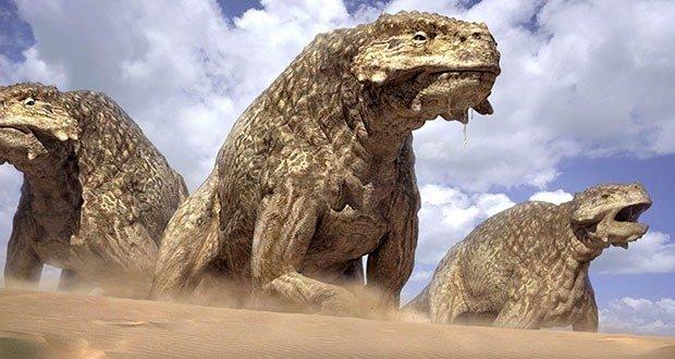 05 Scutosaurus (Pareiasaur)