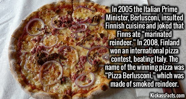 1800 Pizza Berlusconi
