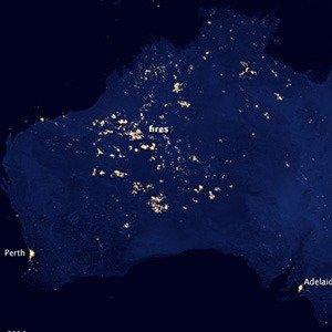 Australia Night Fires